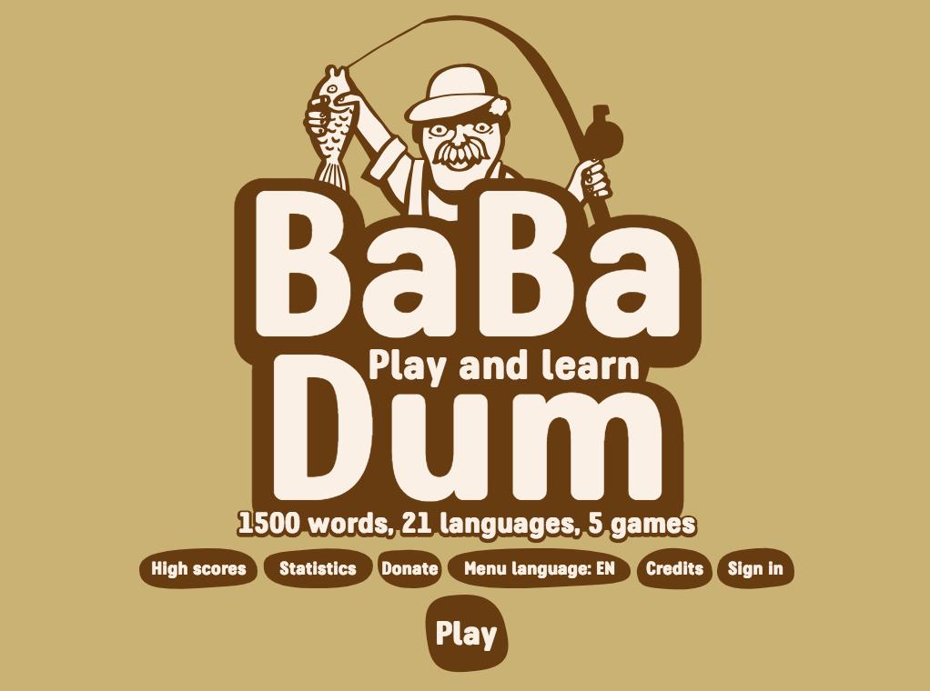 babadum language game