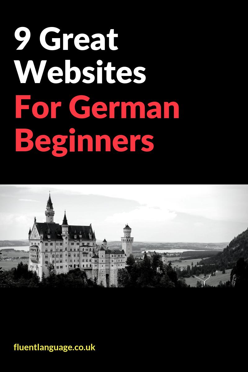 german beginner websites