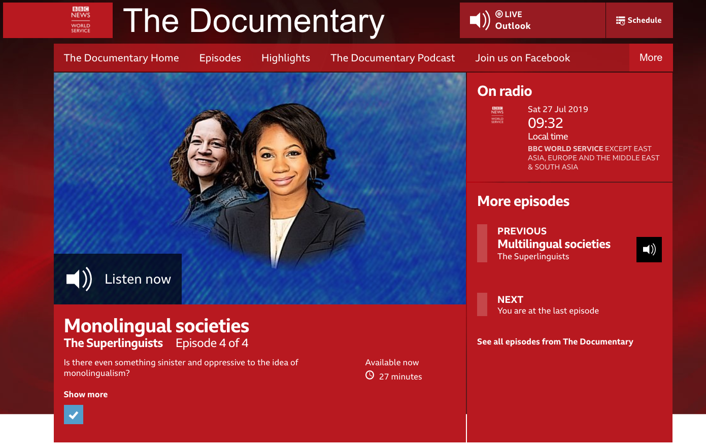 bbc superlinguists