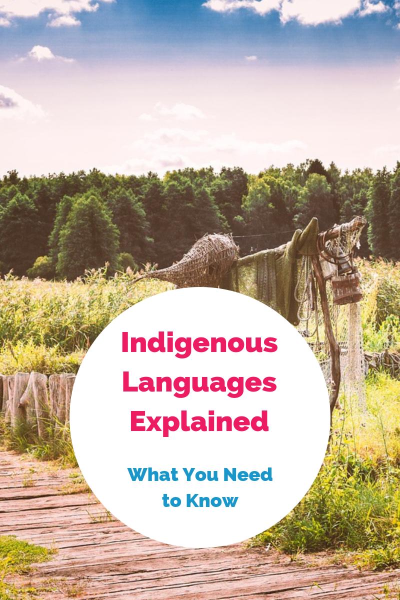 indigenous languages fluent