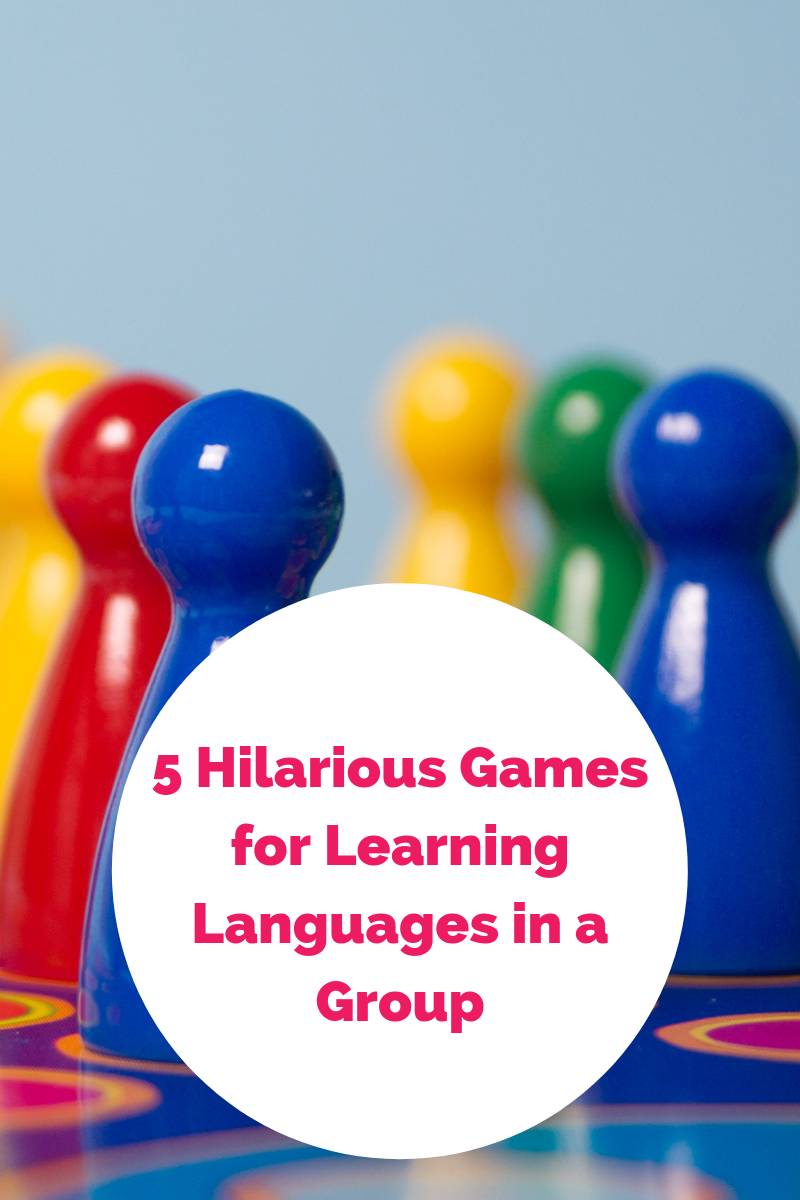 5 Hilarious Games for Learning Languages in a Group