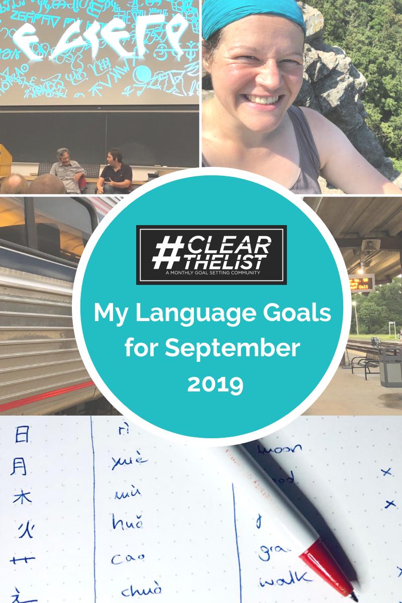 language goals september