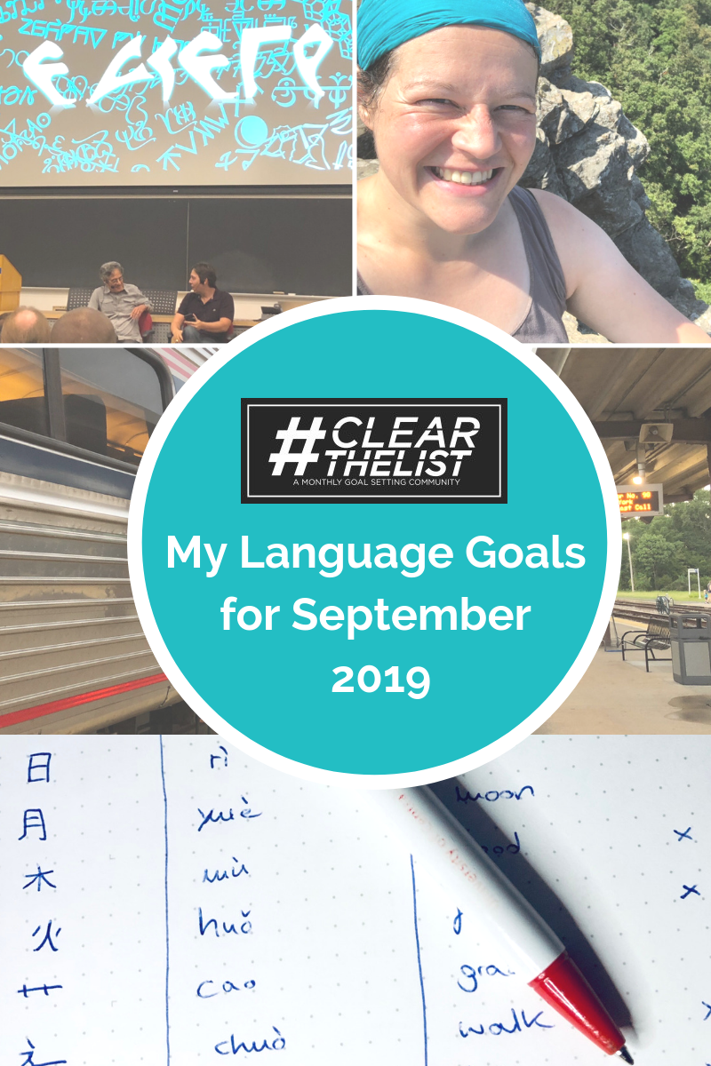 #clearthelist September 2019: The Eleven Languages I Spoke in One Month