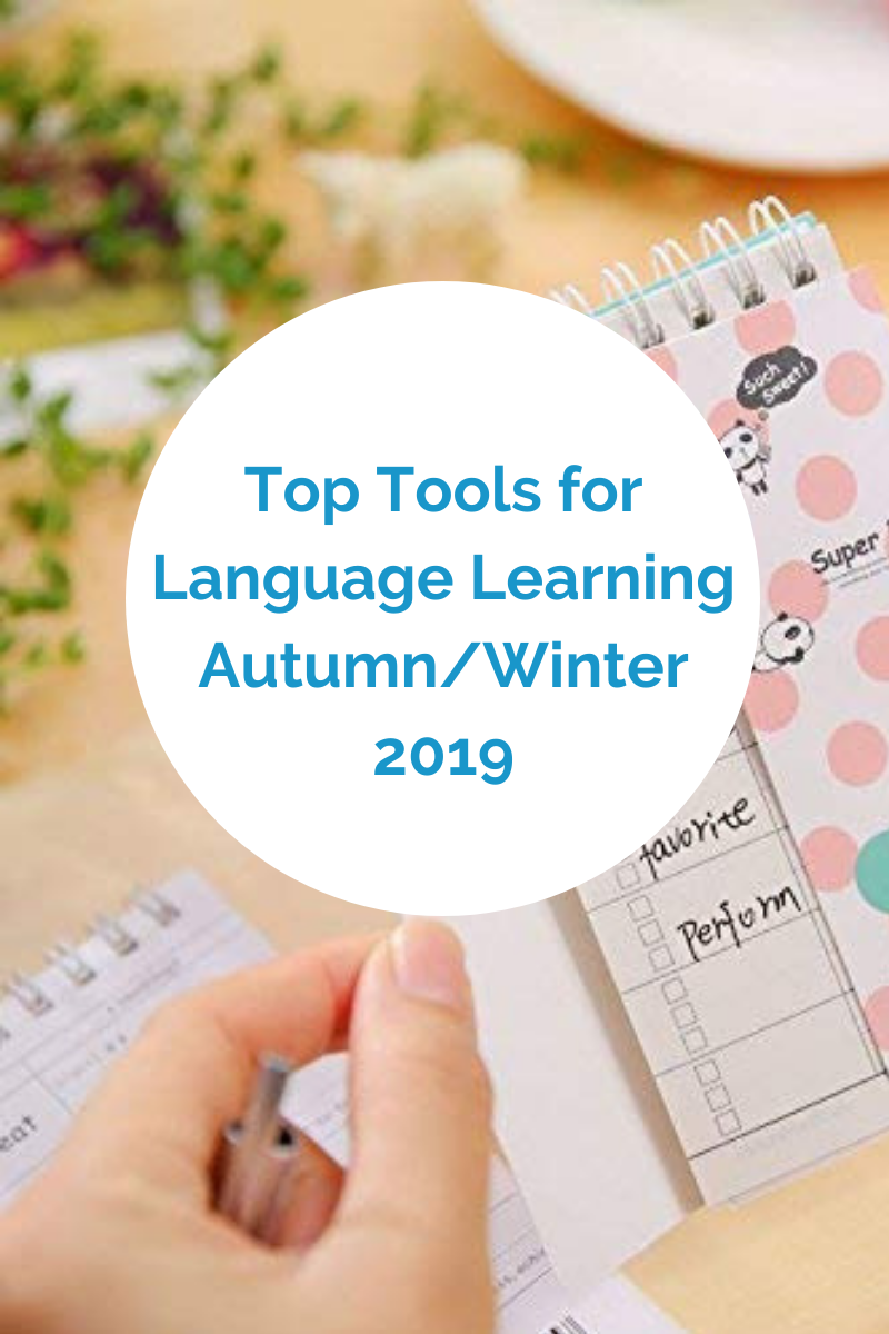 The Best Language Learning Tools for Autumn/Winter 2019