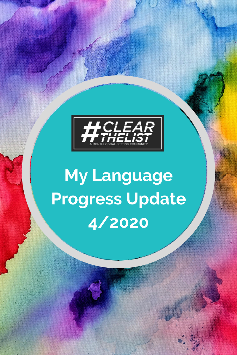 #clearthelist April 2020: Should I Stop Learning Chinese?