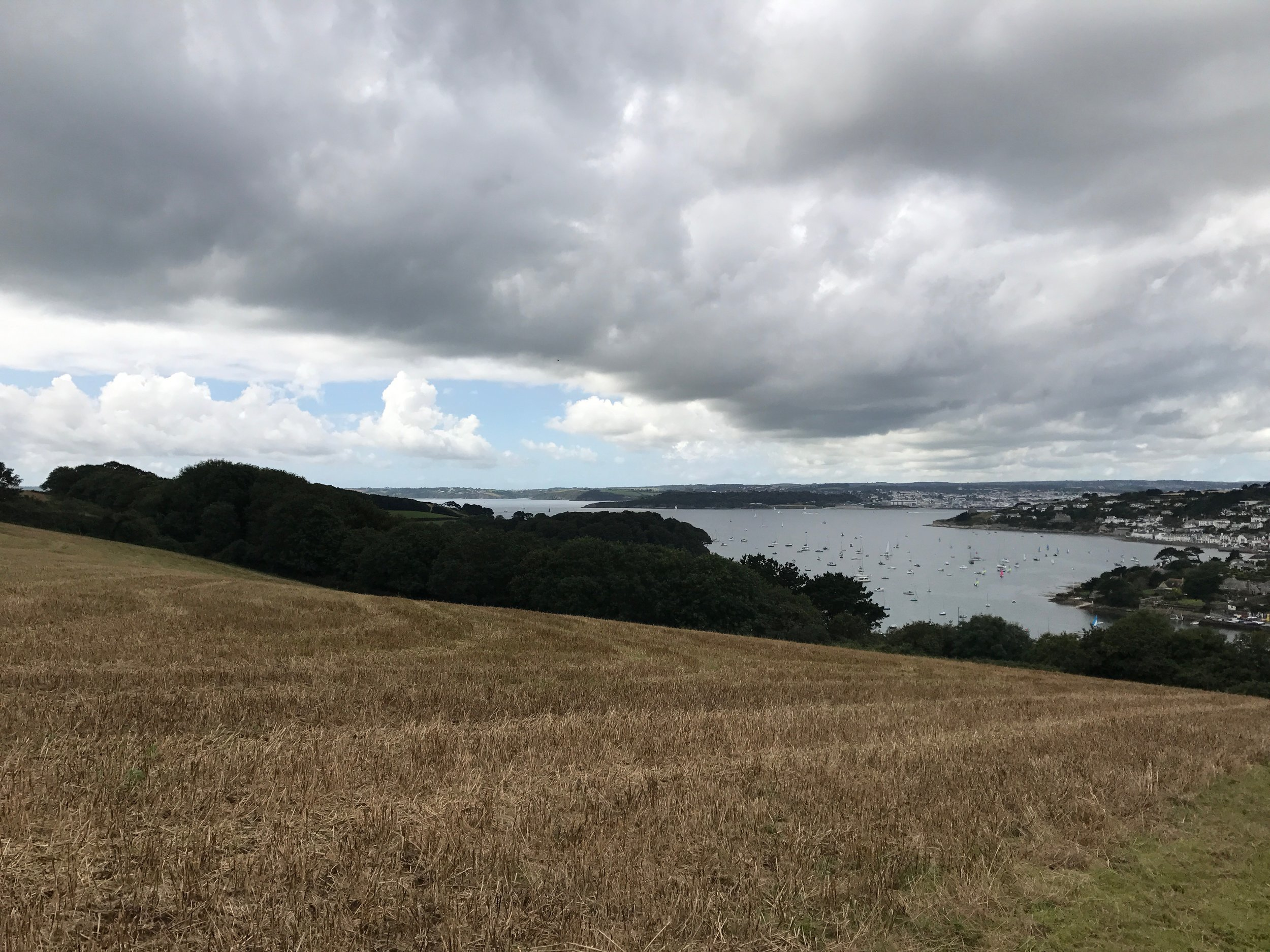 - A view of Falmouth from one of our walks