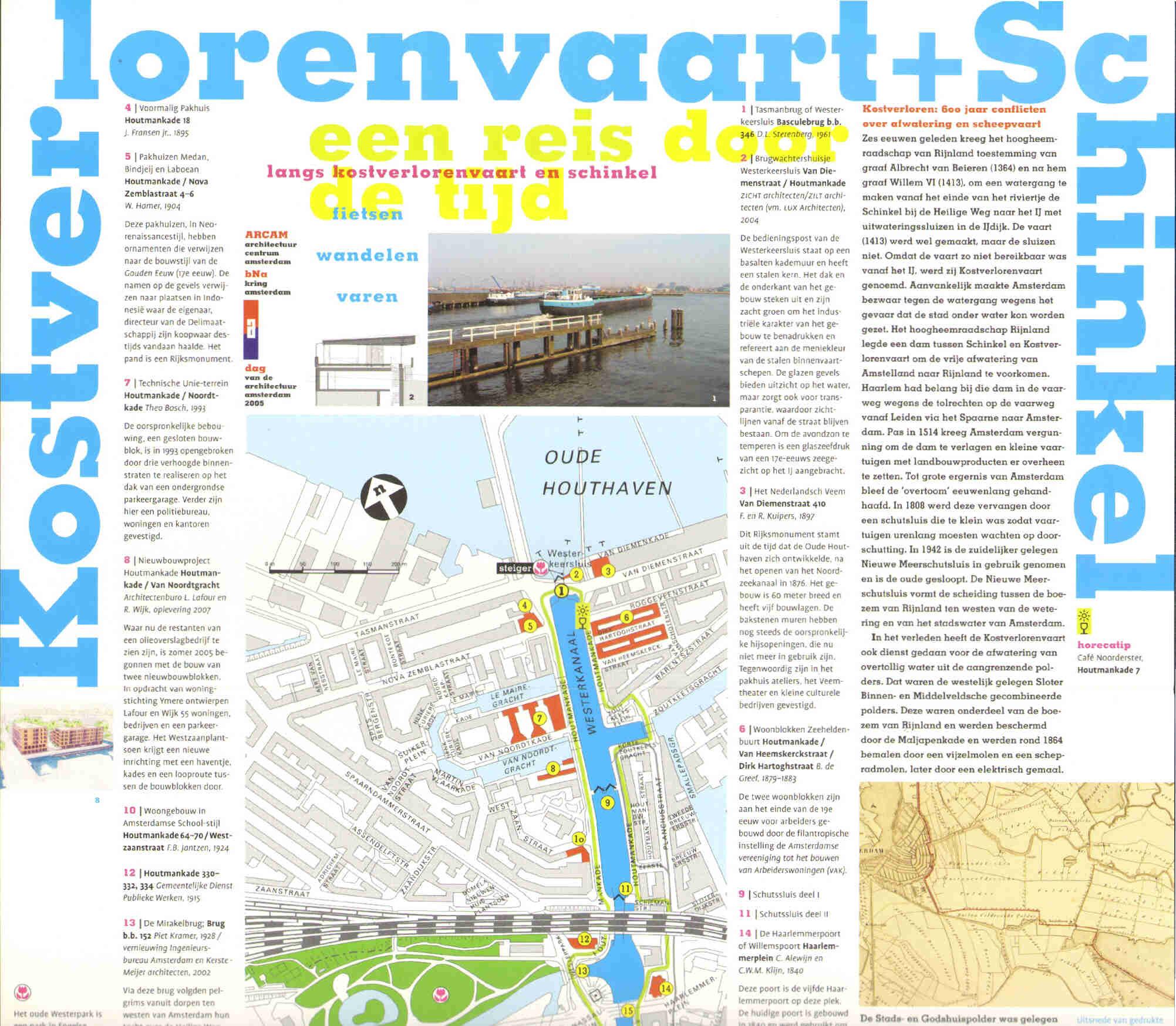 Leporello 2005 Dag van de Architectuur