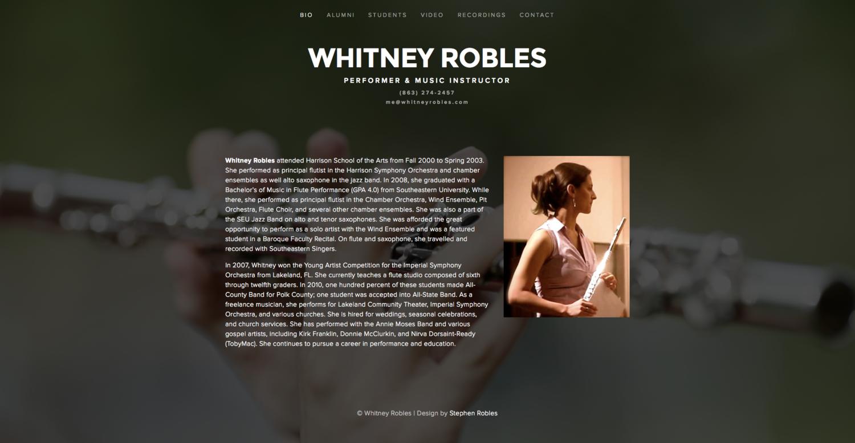 whitneyrobles.com