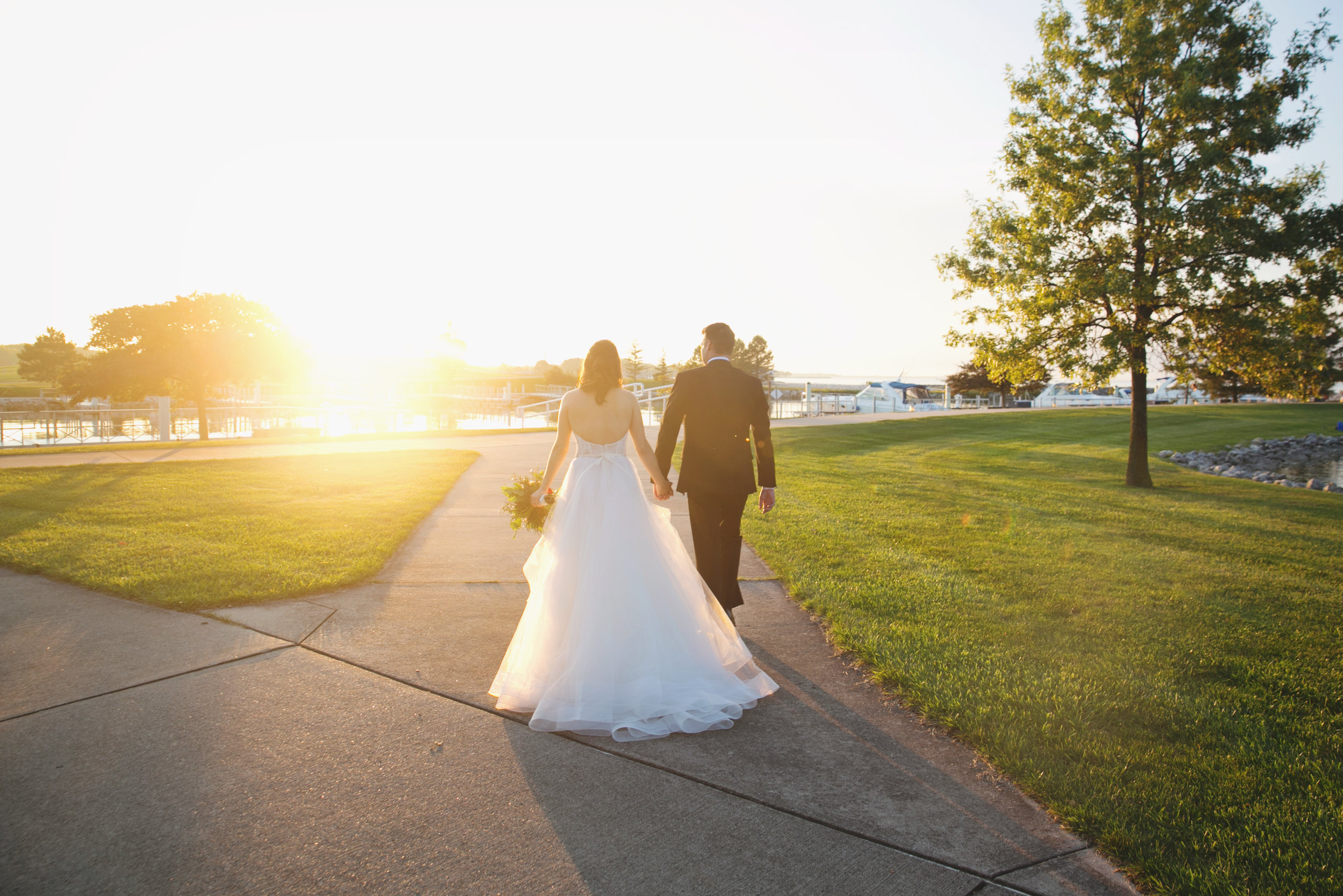 *Golden Hour getting ready to show off during a wedding day at Maumee Bay State Park! :D