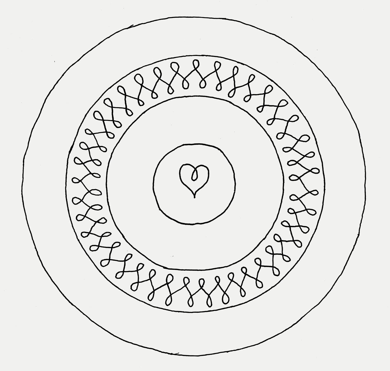 Original Scan of the saucer artwork.