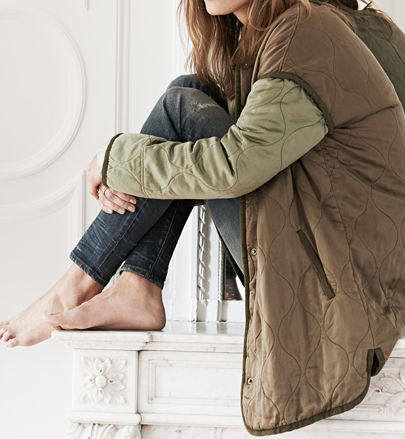 Madewell outfit - quilted bomber jacket.png