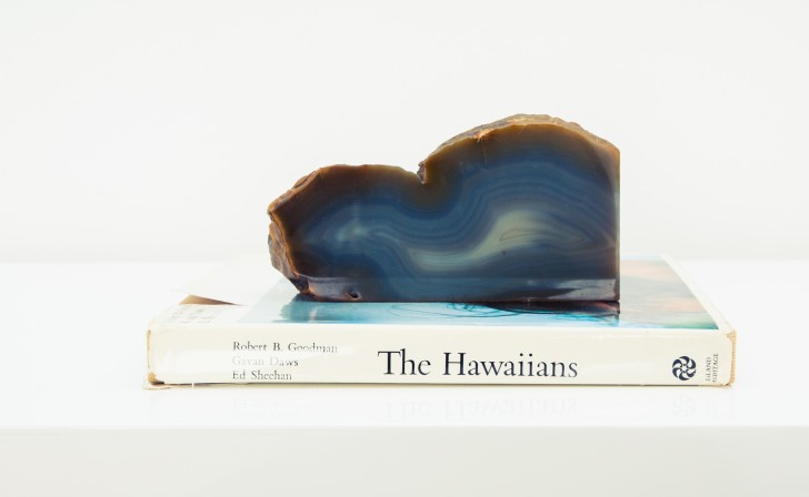 geode and coffee table book
