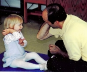 Daddy & Daughter touch elbow.jpg