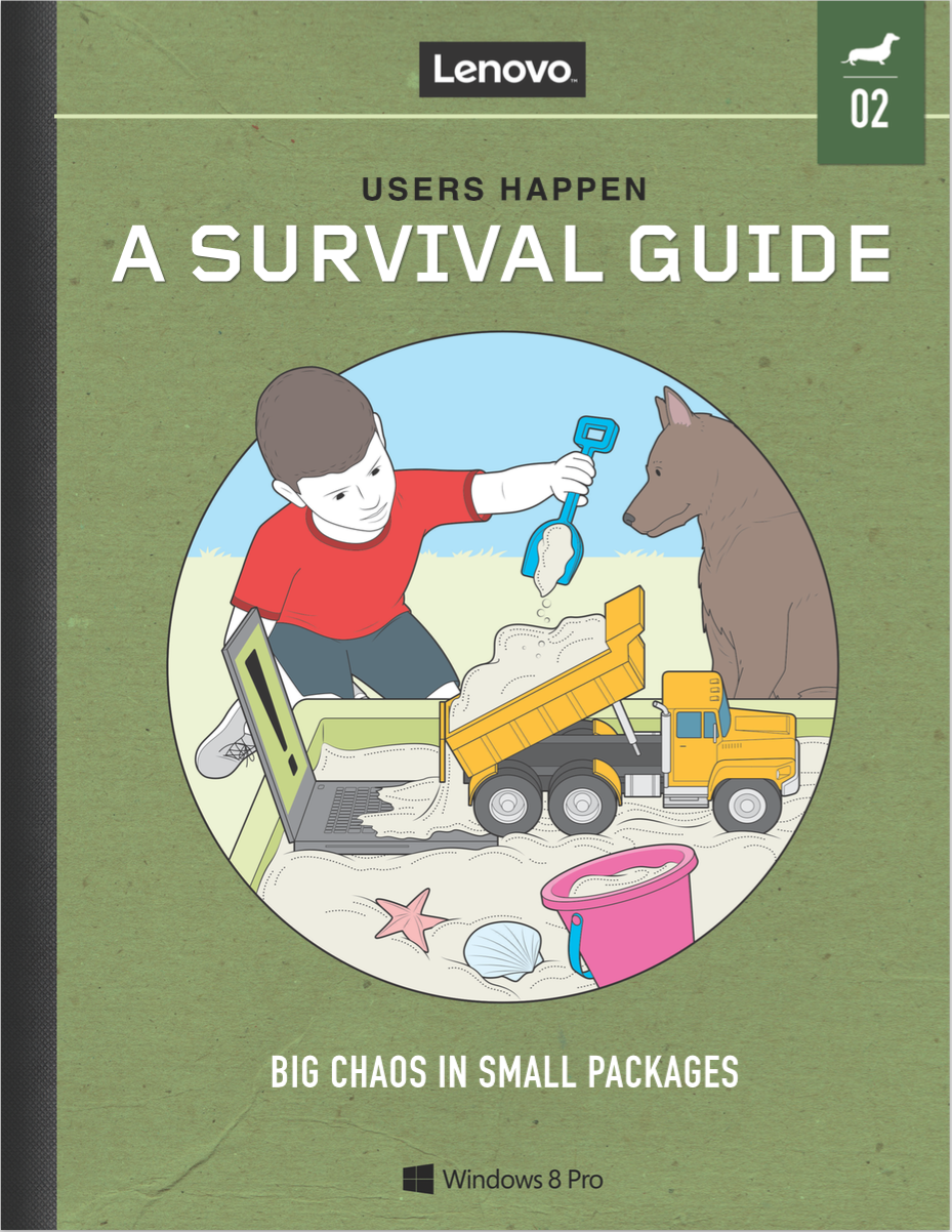 Excerpt from   Users Happen Survival Guide  series