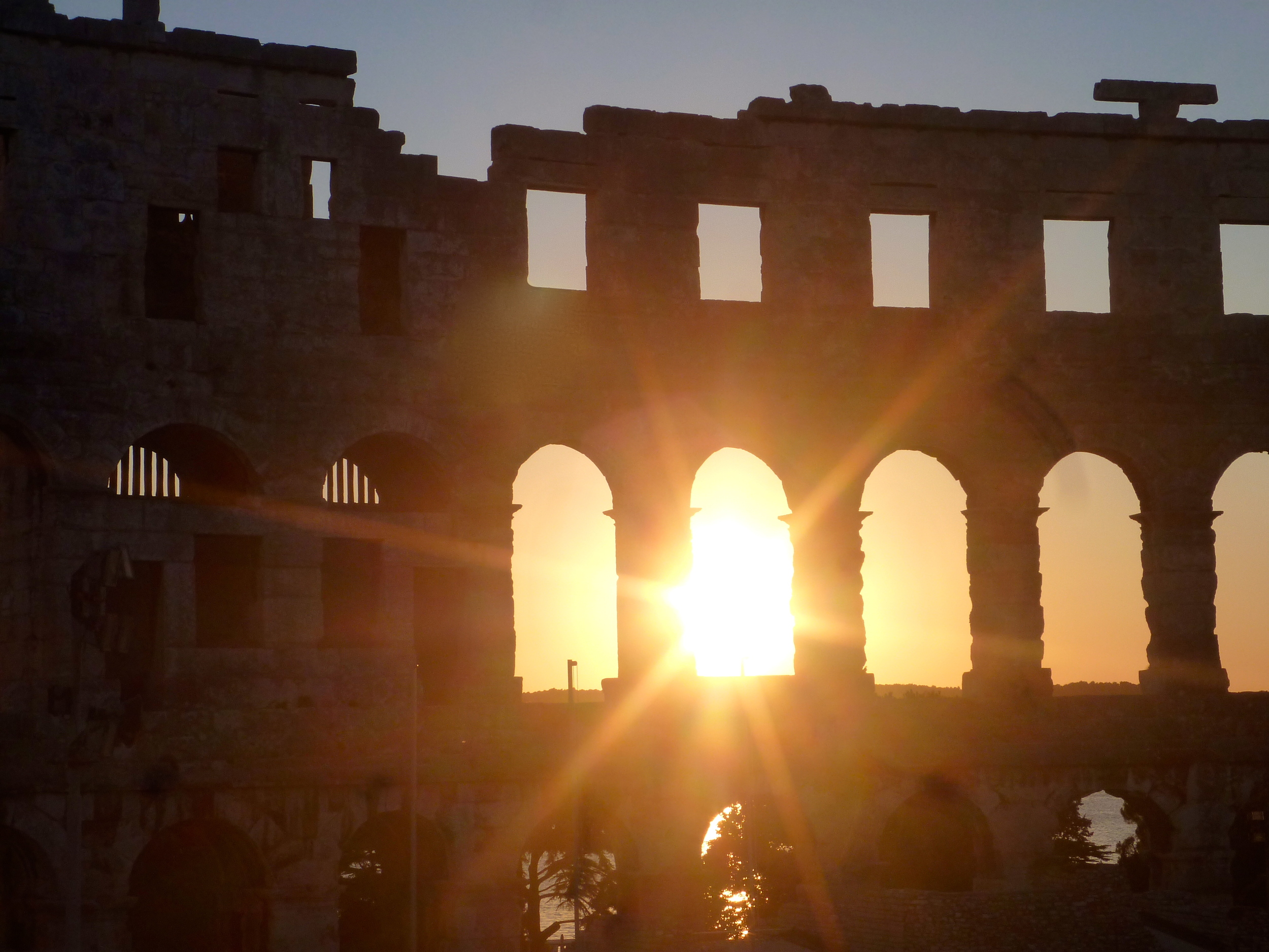 Pula's Roman ampitheatre