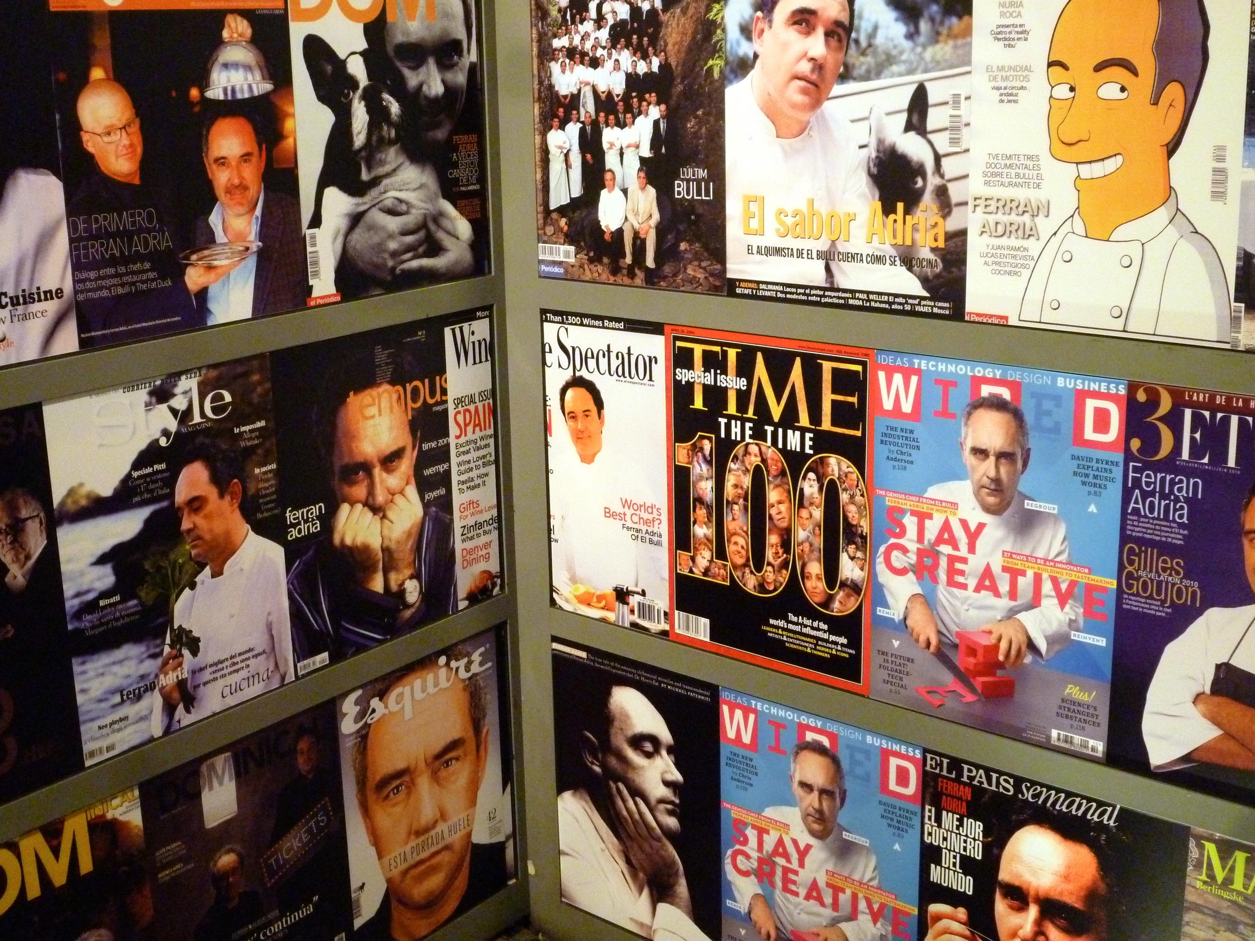 Ferran Adria: the ultimate celebrity chef