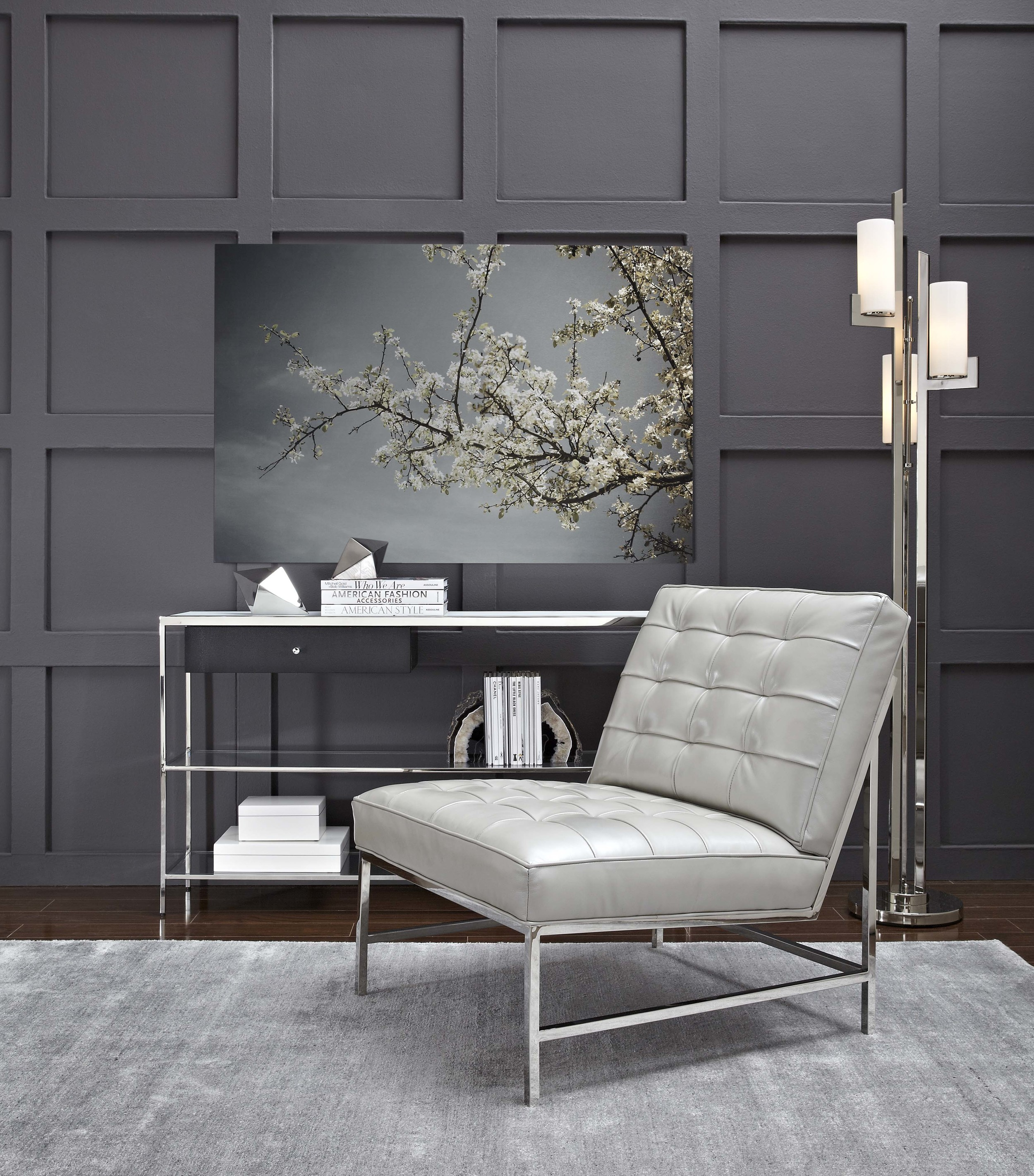 Silver Anniversary Major Chair by Mitchell Gold + Bob Williams; image courtesy Mitchell Gold + Bob Williams