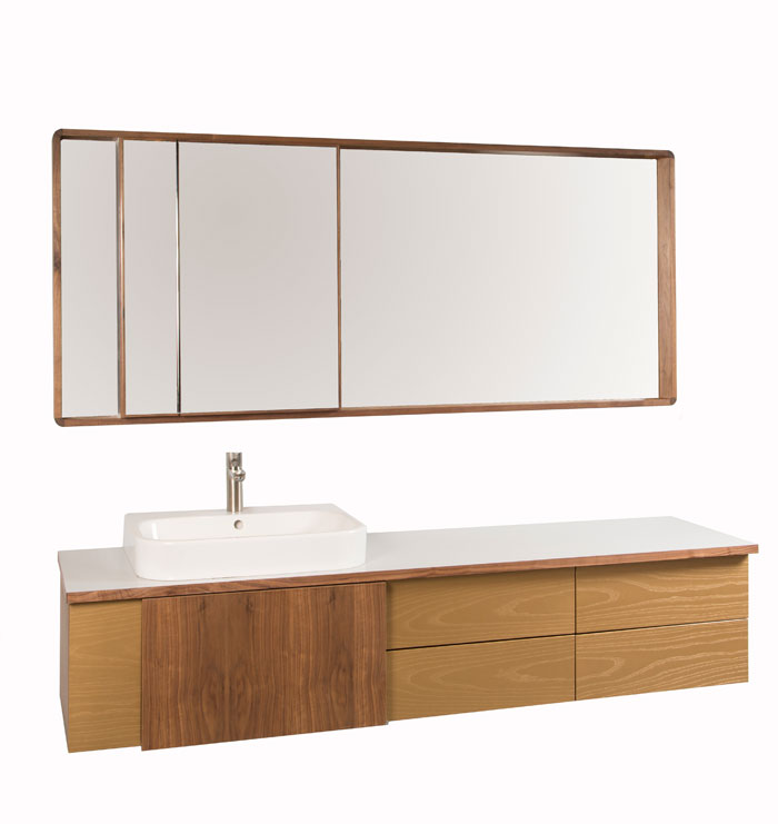 Wall*nut Vanity XL, Courtesy Think Fabricate