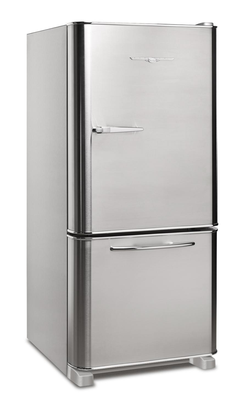 Retro Stainless Steel Refrigerator, Courtesy Elmira Stove Works