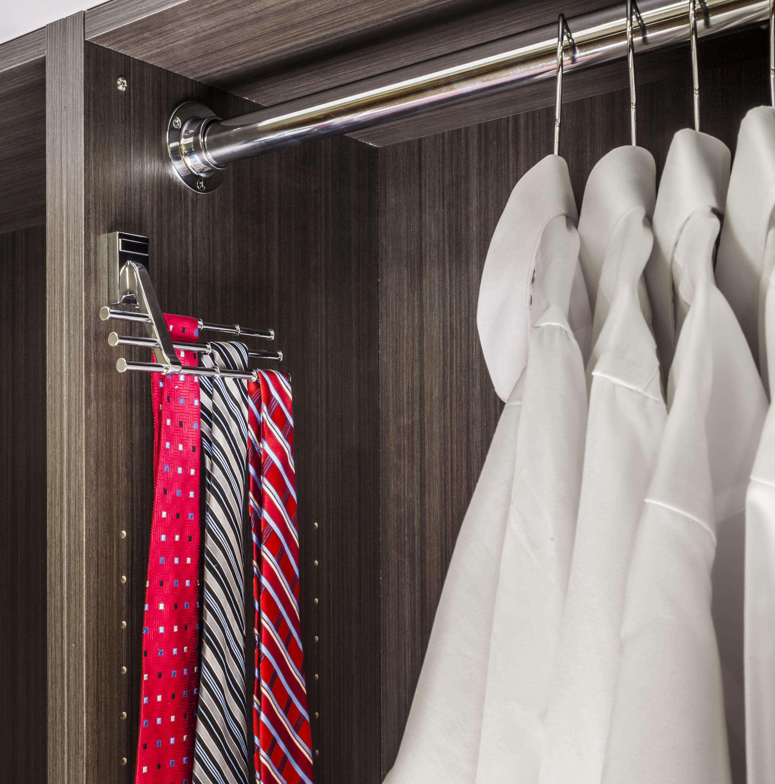 Tie & Scarf Rack, Courtesy Hardware Resources