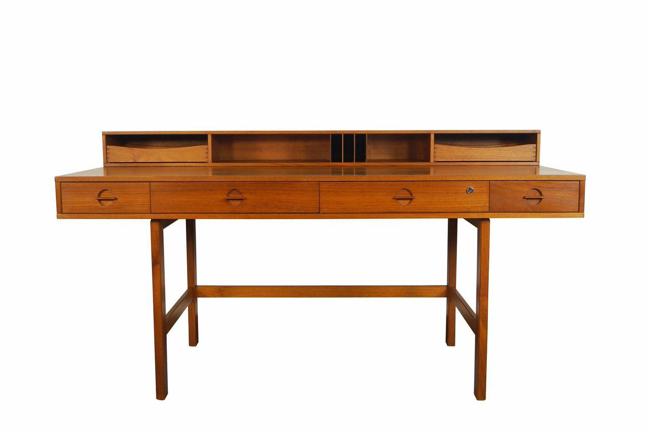 Teak Flip Top Desk by Jens Quistgaard from Danish Modern NoHo; Courtesy Period Media