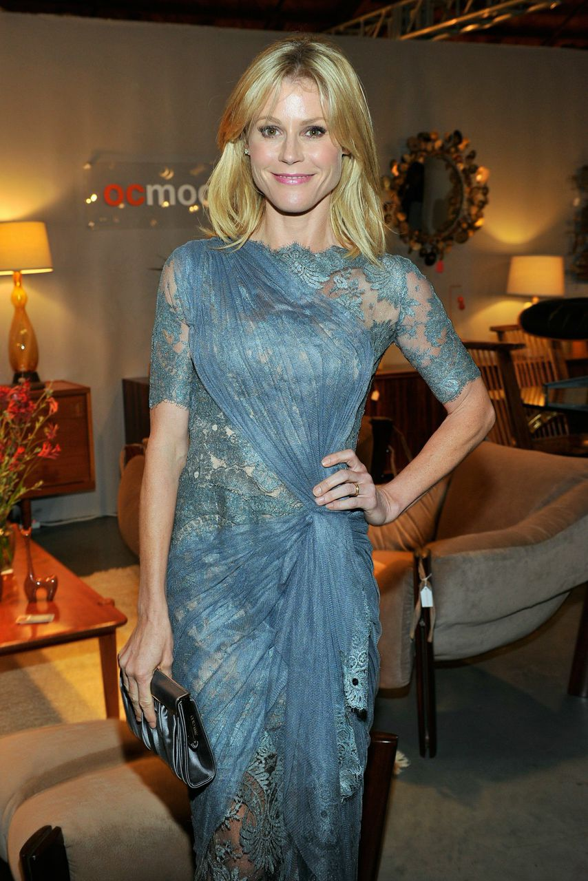 Actress Julie Bowen attends the 2014 preview party; Courtesy Period Media