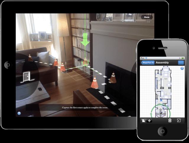 MagicPlan Floorplanner App, Courtesy MagicPlan