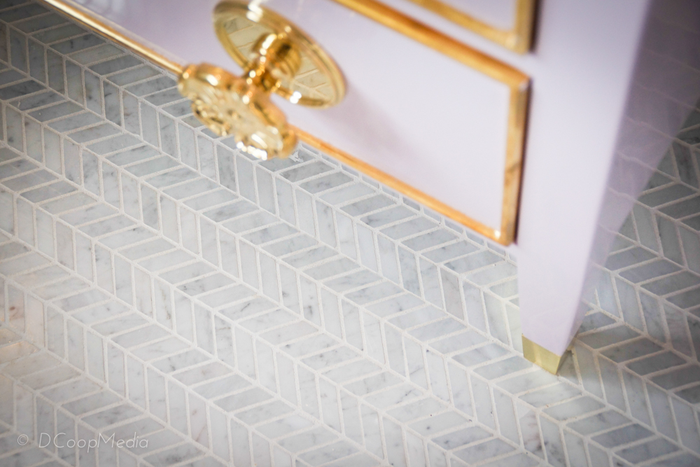 Flooring detail in the Young Girl's Suite by AFK Fine Furniture for Children.