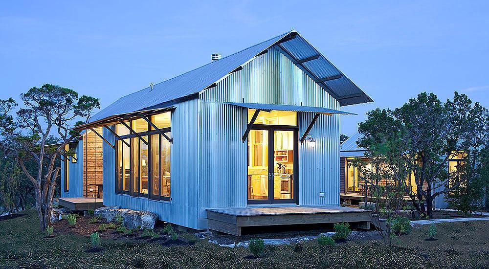 The Lake|Flato Porch House by Lake|Flato Architects | Image courtesy Lake|Flato Architects