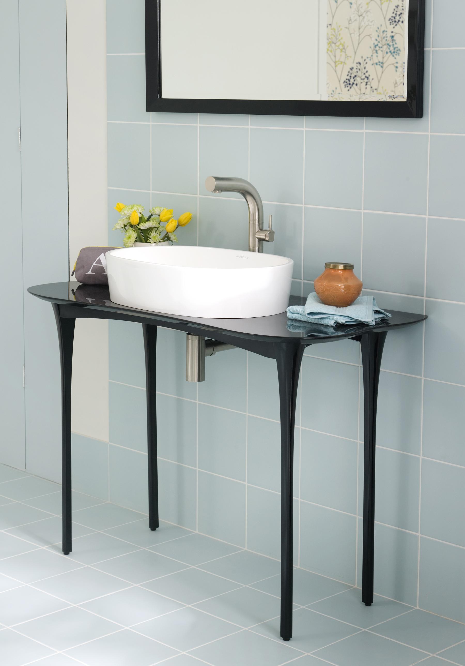 Stiletto Vanity, designed by Brigid Strevens for V+A Baths | Photo courtesy V+A Baths
