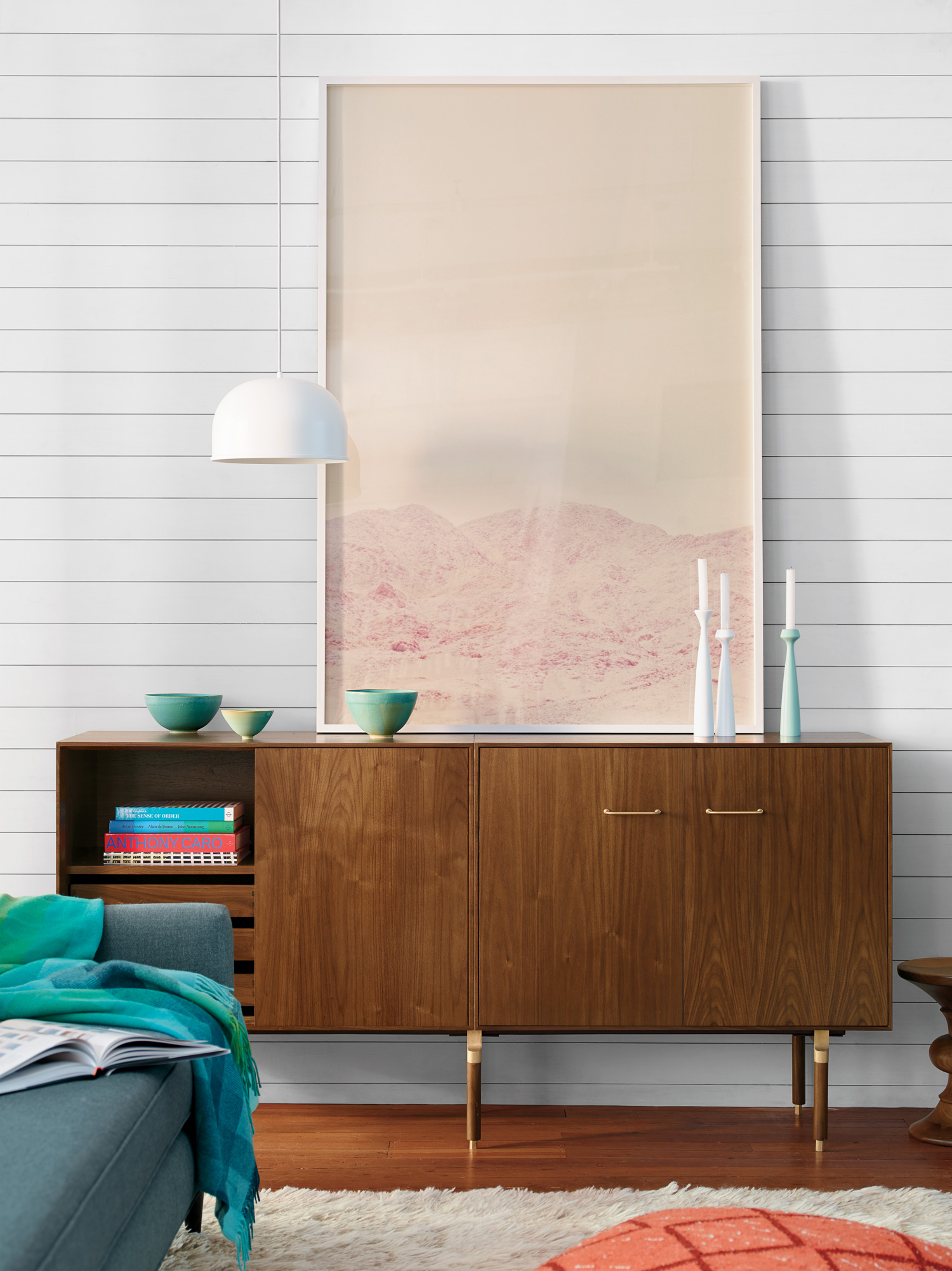 Ven Sliding Door Credenza by Jens Risom & Chris Hardy for Design Within Reach | Photo courtesy Design Within Reach