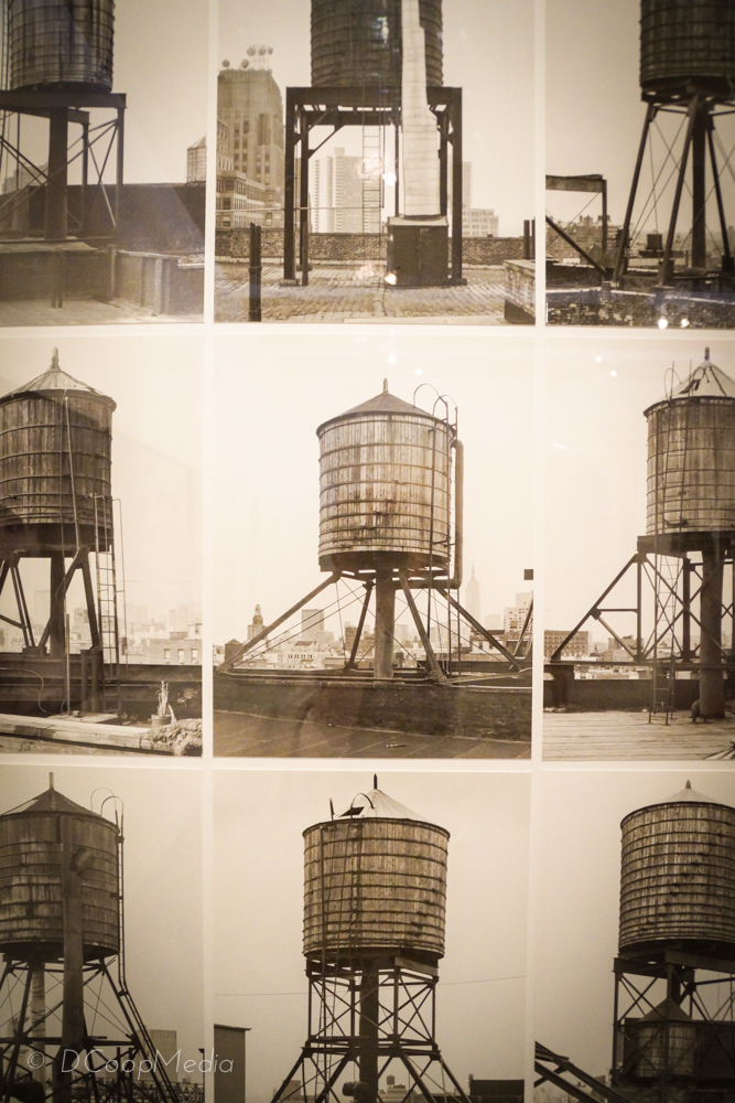"""""""Watertowers, New York"""" by Bernd & Hilla Becher, in the JP Morgan Chase Art Collection 