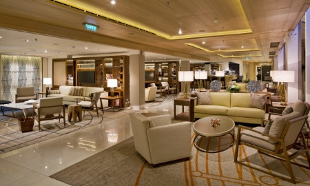 Living Room, Viking Star, with Rottet Studio // © viking cruise lines