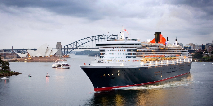 The Queen Mary II // © cunard
