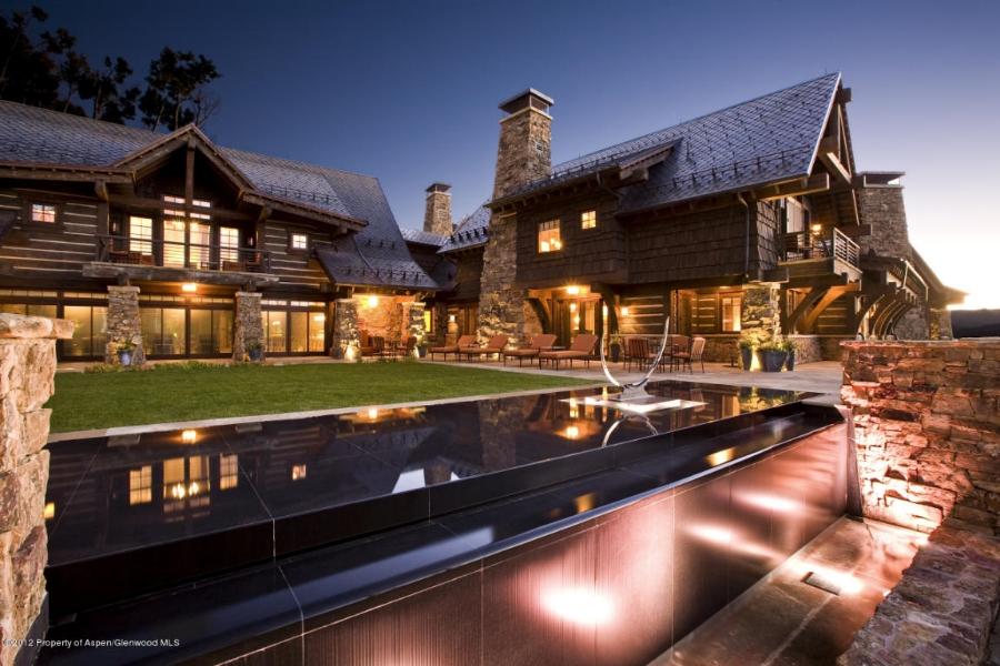 Elle Macpherson Estate, Aspen CO // © toptenrealestatedeals.com