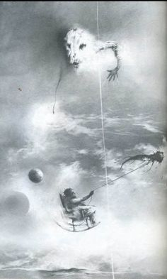"""Steven Grammil's legendary illustrations from """"Scary Stories To Tell In The Dark"""""""