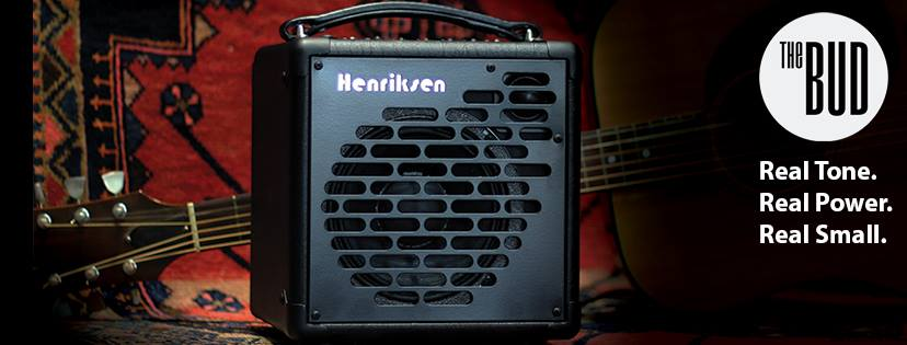 Proud to endorse HENRIKSEN amps! The BUD is the best acoustic/electric/small PA amp ever! Check it out