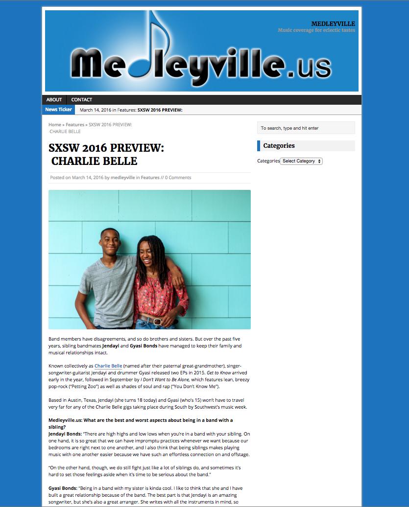 Medleyville