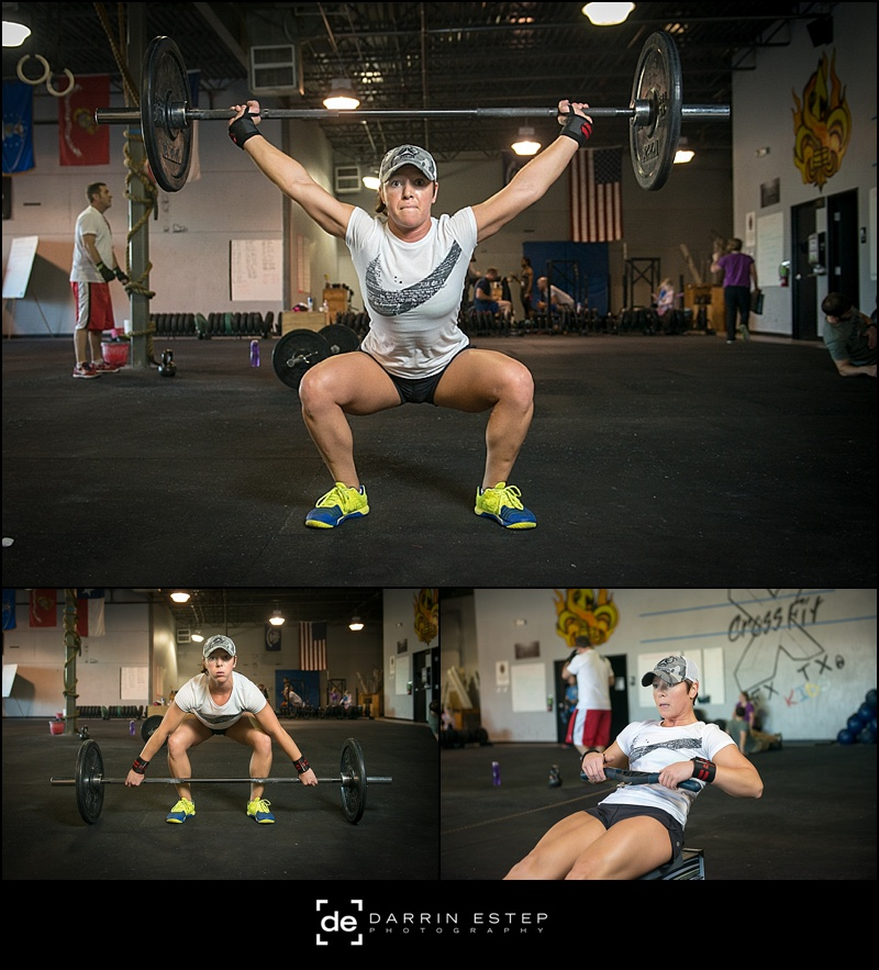 Someone taking on a WOD (workout of the day)