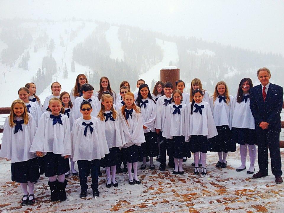 Dance Bands Children's Choir for a destination wedding