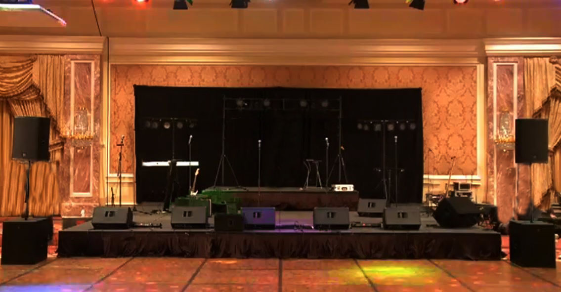 mid to large sound system rental