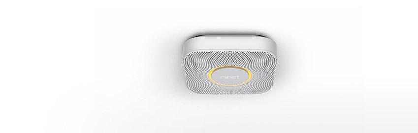 Smart smoke alarm from Nest.