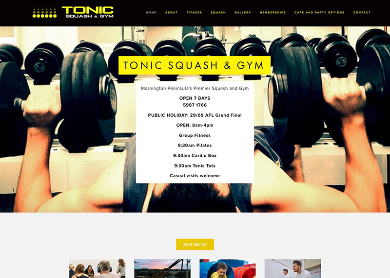 TONIC SQUASH & GYM -