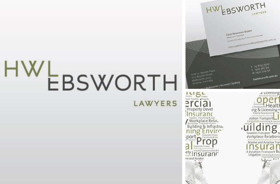 HWL Ebsworth Lawyers Branding