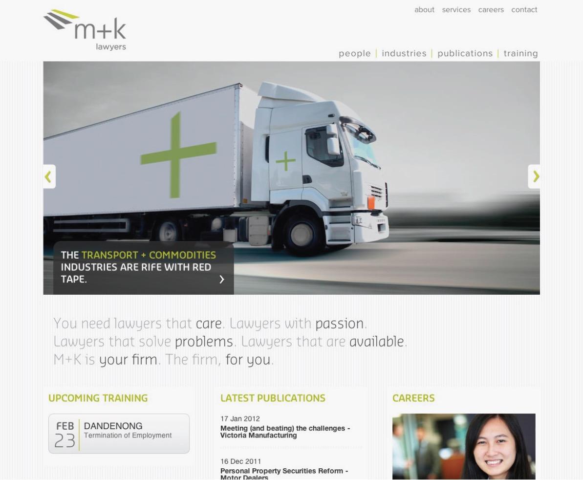M+K Lawyers Branding