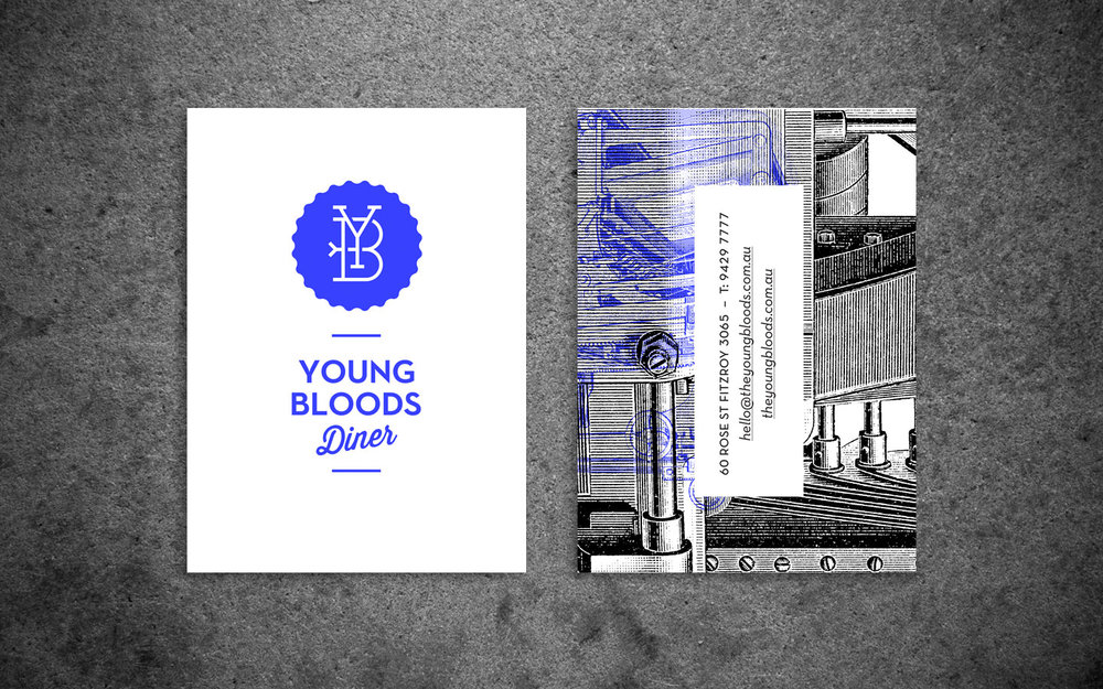 Young Bloods Diner Branding and Website
