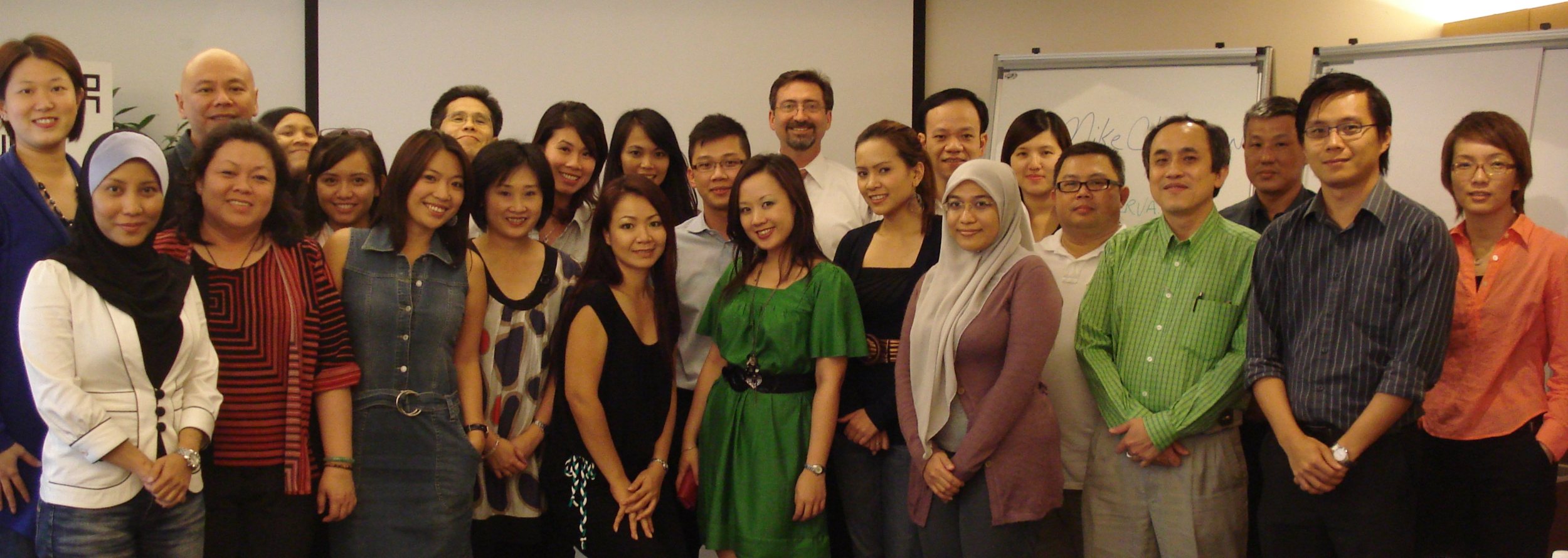 Marketing and Communication professionals in Malaysia who attended the Zanerva workshop on  Alternative Marketing Strategies