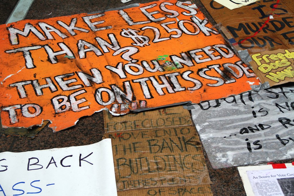 "Occupy Wall Street - ""Street Scene"""