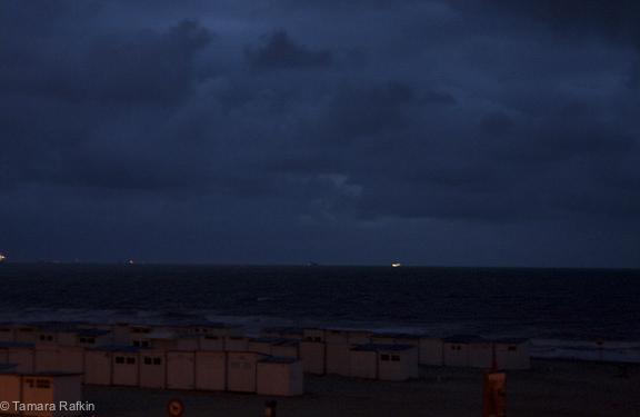 Twillight on the North Sea