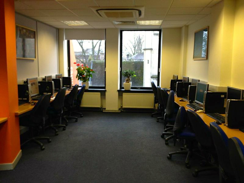 """The old """"computer room"""" at BSC Oxford"""